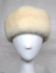 Headband - Luxurious Genuine Natural Blonde Tourmaline Mink Fur Headband