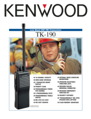 TK-190 Low Band VHF FM Transceiver