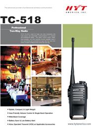 TC-518 Professional Two Way Radio