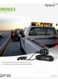 MD-652 Digital Mobile Radio