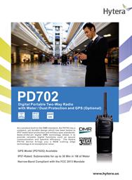 PD-702 Digital Portable Two Way Radio