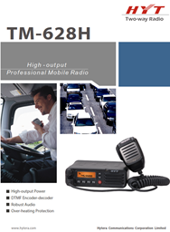 TM-628H High Output Professional Mobile Radio