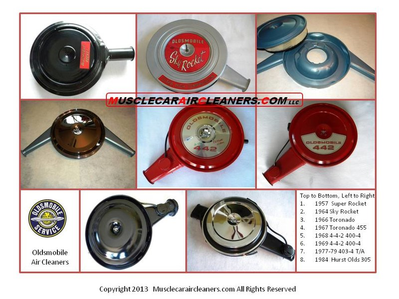 Restored Muscle Car Air Cleaners Muscle Car Air Cleaner