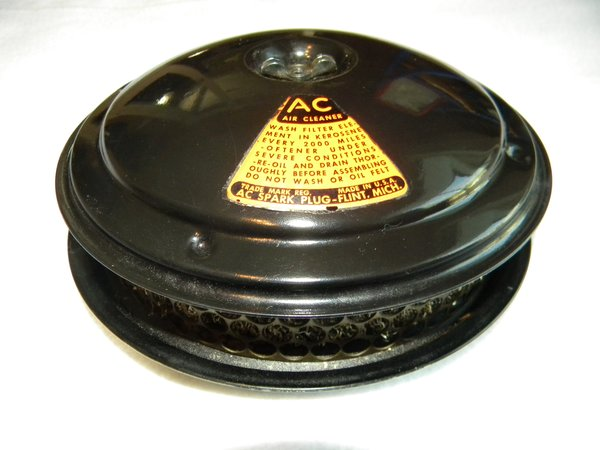 Truck Oil Bath Air Cleaner : Chevrolet pancake air cleaner musclecaraircleaners llc