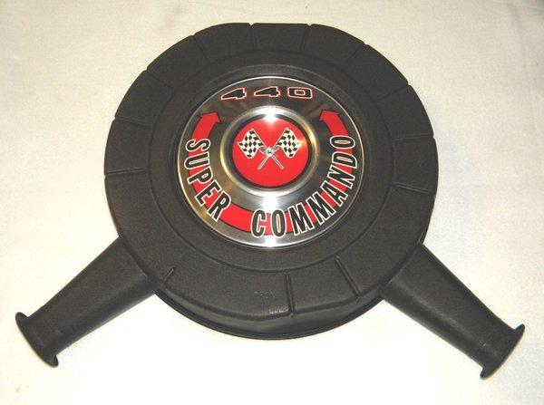 Mopar Air Cleaner Black : Coronet r t gtx air cleaner musclecaraircleaners llc