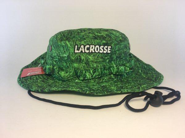 Green Grass Lacrosse Bucket Hat