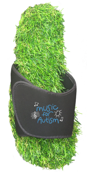 Custom Grass Slides with your logo