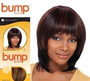 "HUMAN HAIR WEAVE SENSATIONNEL BUMP YAKI WEAVING 8"" 100% human"