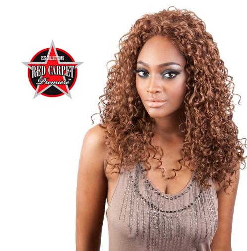 Isis Collection Red Carpet Hair Lace Front Wig - Monique color 1 black