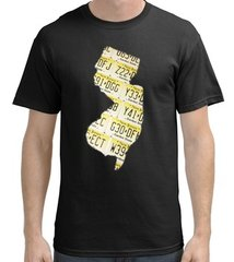 """Its A Jersey Thing"" T-Shirt in Black"