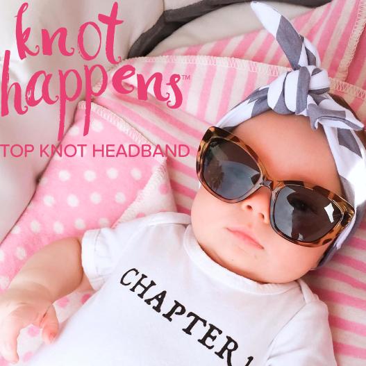 top knot baby heandband