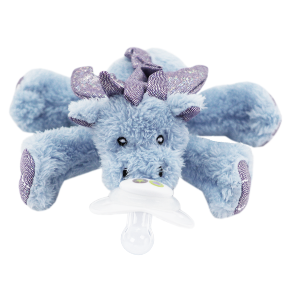 Paci-Plushies buddie - plush pacifier holder
