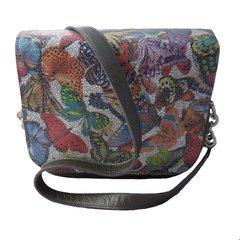 Butterfly Flap Vanna Bag - Grey