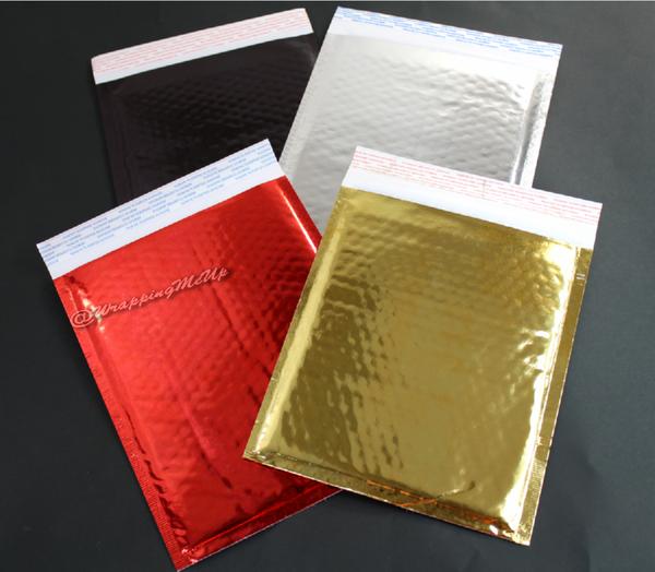 Gold Favor Boxes 4x4x4 : Bubble mailers wholesale poly