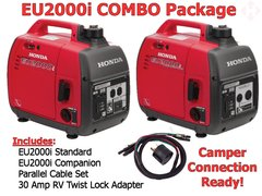 EU2000i AND EU2000i Companion RV Ready Combo Package