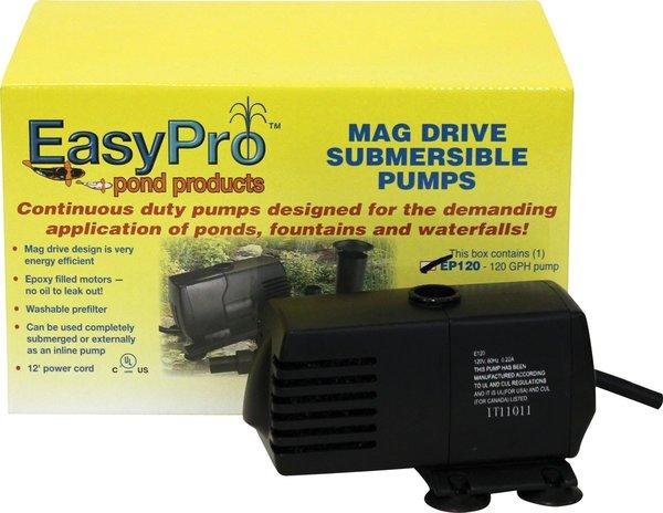 Easy Pro 120 Mag Drive Submersible Pump Aquascape Okc