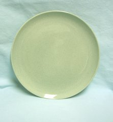 """PLATE: Vintage 10"""" Dinner Plate by Taylor, Smith, T. Pebbleford Granite (Green Brown)"""