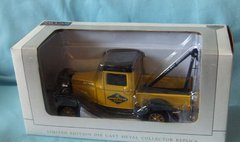 DIECAST TOW TRUCK - 1932 Yellow Ford Goodyear Collectible Die-cast Wrecker