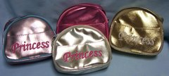 CHILDREN PURSES: Beautiful 9 Metallic Purses & 2 Plain Leather-like PRINCESS Purses with Zippers