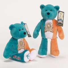 EURO COIN BEAR - IRELAND Collectible Plush 20 Cent Euro Coin Bear