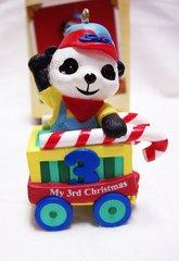CHRISTMAS ORNAMENT - 2004 Hallmark CHILD'S 3RD CHRISTMAS Xmas Ornament