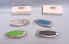 LED KEYCHAINS: Set (4) Super Bright LED Keychain Lights in different colors Come in Boxes. (Set #2)