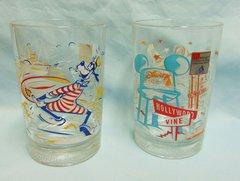 "DISNEY Glasses: Pair Walt Disney McDonalds Glasses ""Remember the Magic 100 years"" Mickey Mouse"
