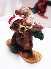 CHRISTMAS ORNAMENT - 2008 Hallmark UP FOR FUN Christmas Tree Ornament