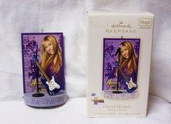 CHRISTMAS ORNAMENT 2008 HALLMARK Hannah Montana DISNEY Xmas ORNAMENT