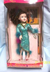 "1999 Collectible Porcelain Doll 16"" Limited Edition by Brass Key Cha Cha Girl Trixie"