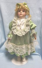 COLLECTIBLE DOLLS: Collectible Porcelain Doll Collector's Choice by DanDee