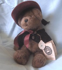 "STUFFED BEAR - Vintage Collectible BOYD'S 10"" TEDDY BEAR - Madeline Willoughby"