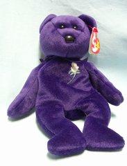BEANIE BABIES: Ty Beanie Babies Plush Collectible Bean Bear - 1997 PRINCESS