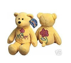"LIMITED TREASURE BEAR - Plush Collectible 9"" Mini ""Mom"" Teddy Bear - LOVE 'YA MOM"