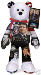 RONALD WILSON REAGAN: Collectible President Plush Bear By Limited Treasures