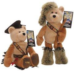 "LIMITED TREASURE BEAR - 9 1/2"" Plush Collectible Stuffed Bears -'Lewis & Clark'"
