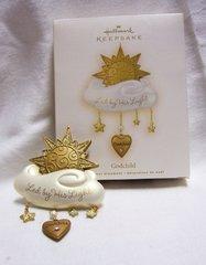 CHRISTMAS ORNAMENT 2008 Hallmark Christmas Ornament - GODCHILD