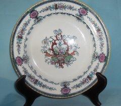 PLATE- Elegant Salad Plate Rare Vintage ROYAL CAULDON Smooth Salad Plate