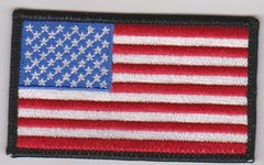 American Flag with Black Border