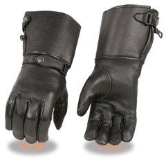 Men's Deerskin Leather Ultra Long Gauntlet Gloves