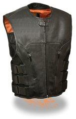 Men's SWAT Style Zipper Front Vest MLM3500
