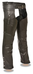 Men's Milwaukee Leather Classic Chap w/Zipper Thigh Pocket ML1190