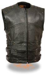 Men's Updated SWAT Style Biker Vest MLM3530