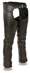 Men's Milwaukee Leather Classic Braided Motorcycle Chap ML1135