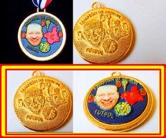 Medalla Deportiva con Selfie (Murcia)