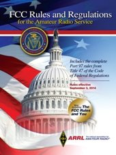 ARRL FCC Rules And Regulations For The Amateur Radio Service