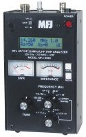 MFJ-269C HF/VHF/220MHZ/UHF,.530-230,415-470MHZ,SWR ANALYZER