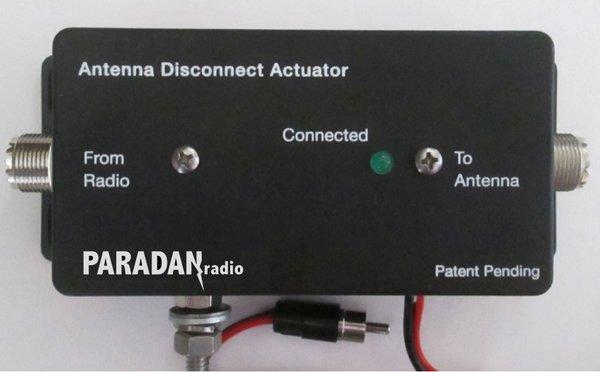 Paradan Radio Antenna Disconnect