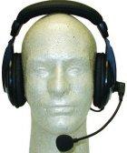 MFJ-393K Professional Boom-Mic Headphones For Kenwood