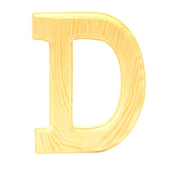 Pine Letter D Home Decor Items Decorative Items